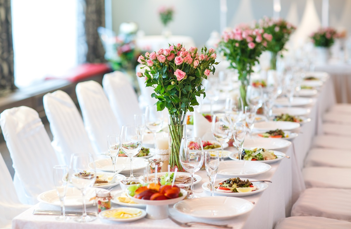 tavolo da matrimonio